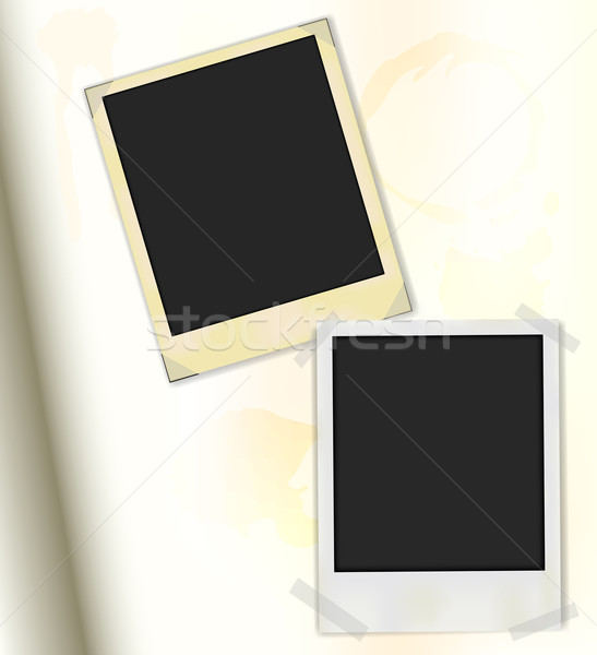 Retro Photo Frames Stock photo © jamdesign