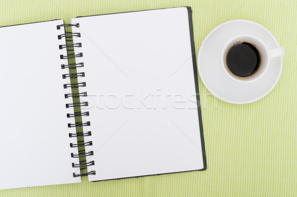 Diary and Cofee Stock photo © jamdesign