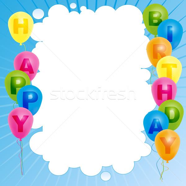 Happy Birthday Card Stock photo © jamdesign