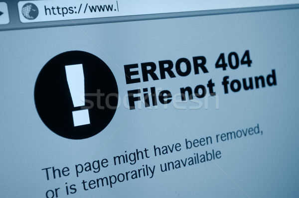 404 Error Stock photo © jamdesign