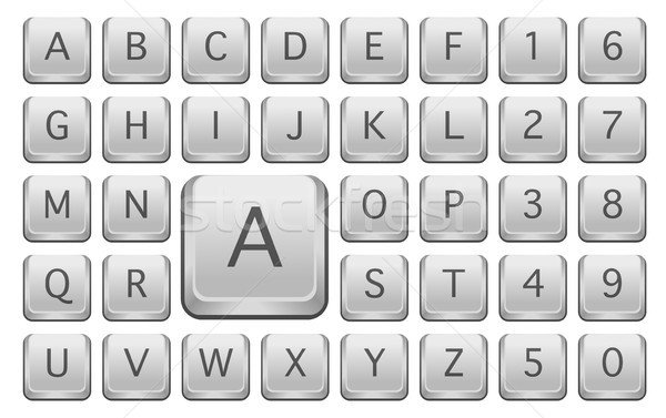 Keyboard Keys Stock photo © jamdesign