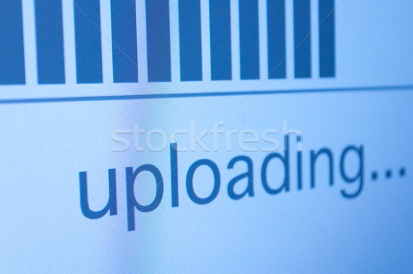 Uploading Stock photo © jamdesign