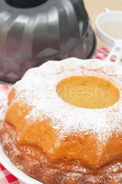 Baking of Gugelhupf Stock photo © jamdesign