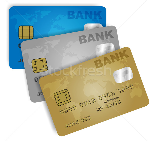 Credit Cards Stock photo © jamdesign