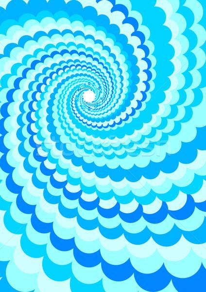 Abstract Background - Water Twirl Stock photo © jamdesign