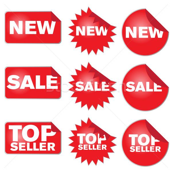 Set of Labels Stock photo © jamdesign