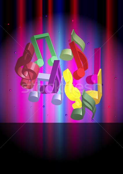 Music Background Stock photo © jamdesign