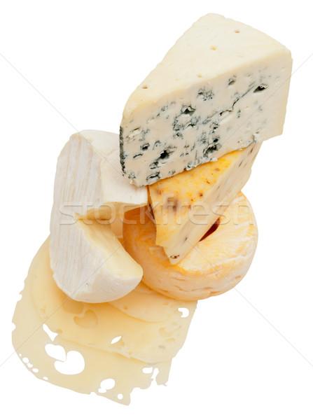 Cheese Assortment Stock photo © jamdesign