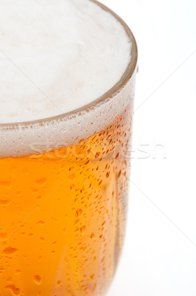 Stock photo: Glass of Beer