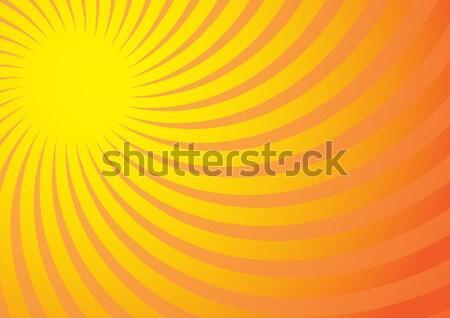 Stock foto: Sommer · gelb · Strahlen · Gradienten · Sonnenuntergang · sunrise