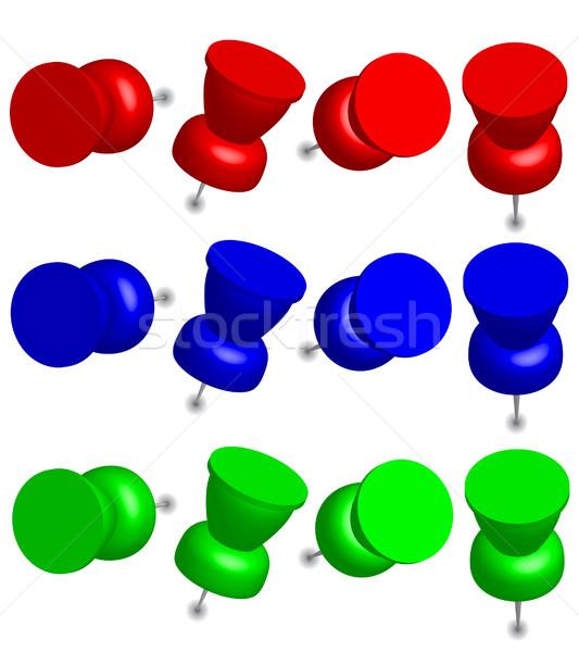 Office Pins Stock photo © jamdesign