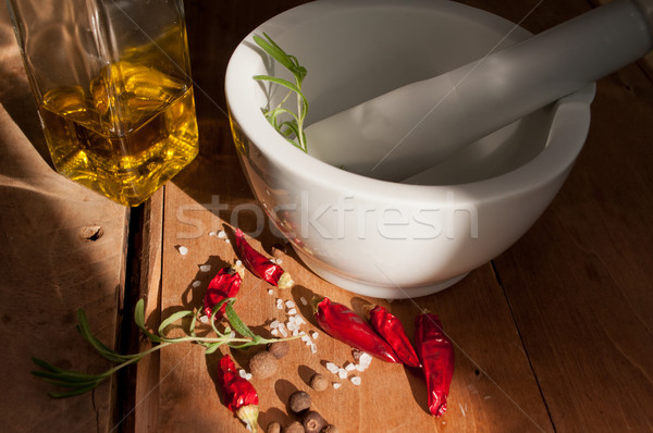 Mortar and Pestle Stock photo © jamdesign