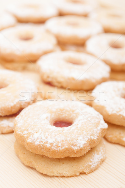 Linzer Cookies Stock photo © jamdesign
