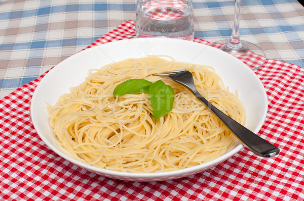 Spaghetti Stock photo © jamdesign