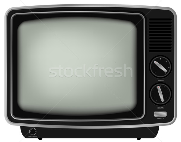 Retro TV Stock photo © jamdesign