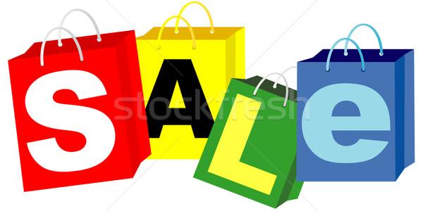 Shopping Bags - Sale Sign Stock photo © jamdesign