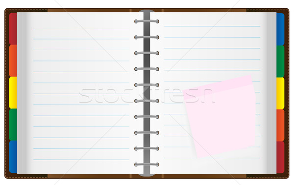 Stock photo: Notebook / Organizer