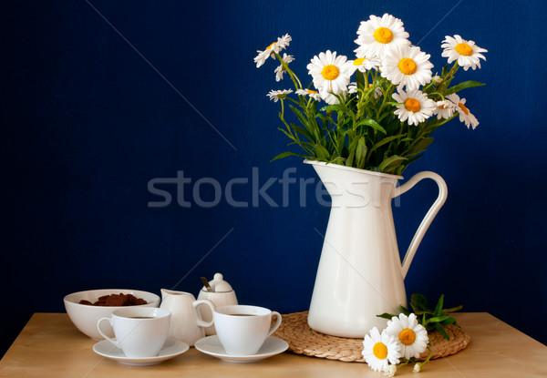 Summer Breakfast Stock photo © jamdesign