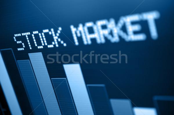 Stock Market Down Stock photo © jamdesign