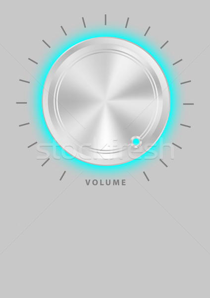 Metallic Volume Knob  Stock photo © jamdesign