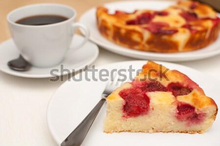 Strawberry Pie Stock photo © jamdesign