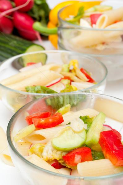 Pasta Salad With Vegetables Stock photo © jamdesign