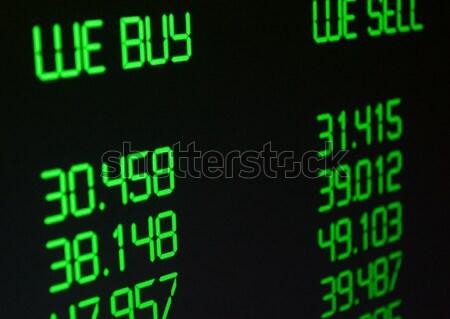 валюта обмена иностранная валюта отображения технологий Сток-фото © jamdesign