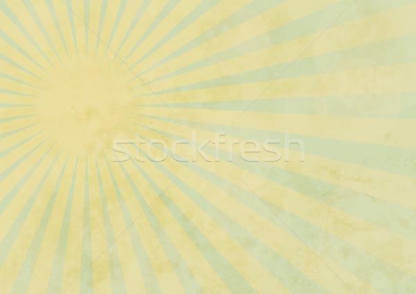Summer Background on Aged Paper Stock photo © jamdesign