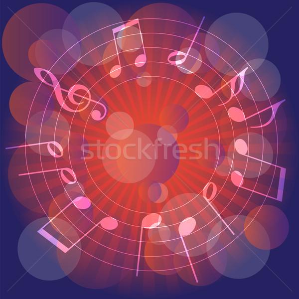 Music Party Background Stock photo © jamdesign