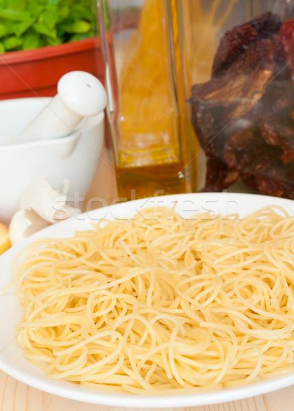 Cooking of Spaghetti Stock photo © jamdesign