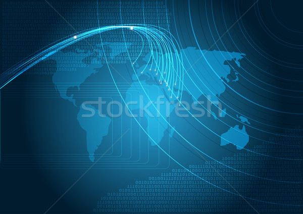 Stock photo: Technology - Background