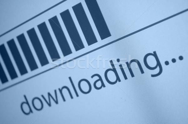 Downloading Stock photo © jamdesign