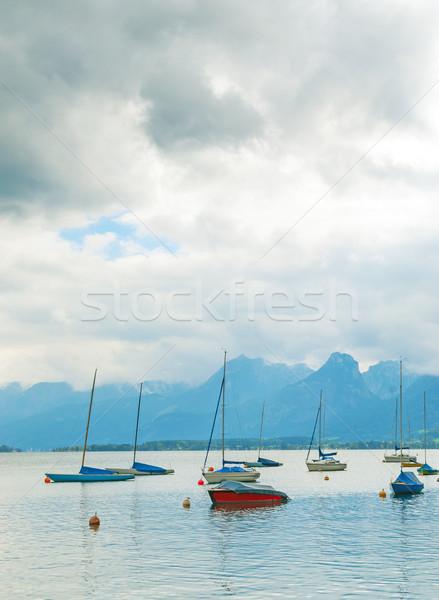 Boats on Lake  Stock photo © jamdesign