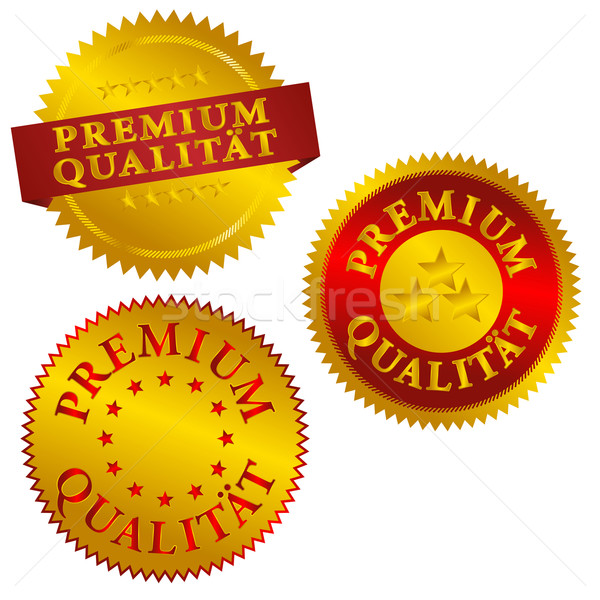 German Premium Quality Seals Stock photo © jamdesign