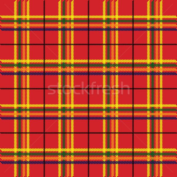 Zdjęcia stock: Tekstury · ilustracja · czerwony · tkaniny · streszczenie · tle