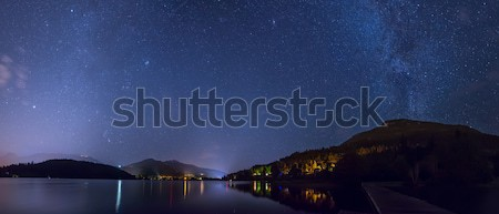 Alta Lake in Whistler Under the Stars Stock photo © jameswheeler