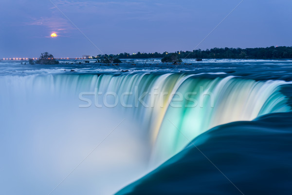 Niagara Falls at Dusk Stock photo © jameswheeler
