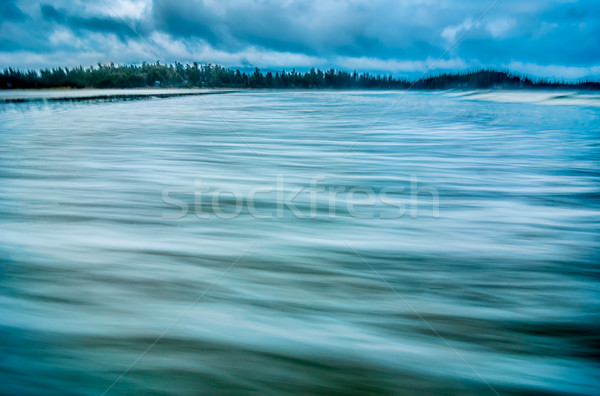 Smooth Coastal Water Stock photo © jameswheeler