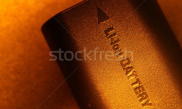 Foto stock: Bateria · empacotar · tecnologia · ciência · serviço