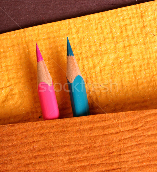 Colored pencils Stock photo © janaka