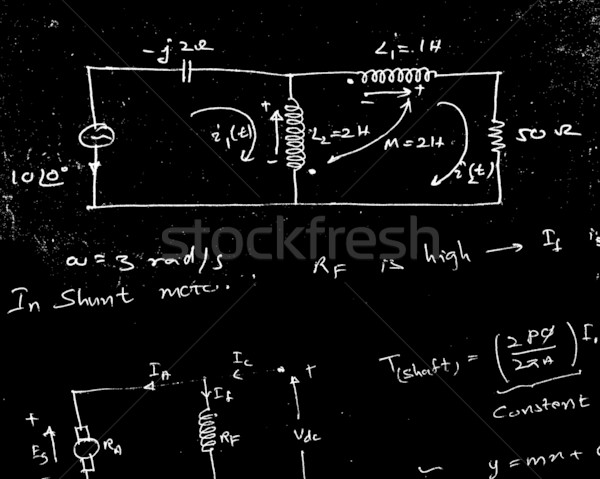 Mathematical Engineering Background Stock photo © janaka