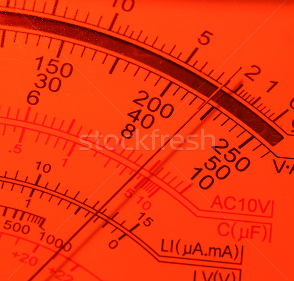 Stock photo: Electric multi meter