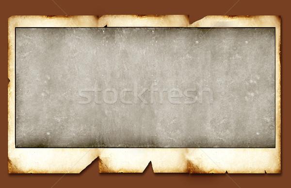 Polaroid starych tle ramki retro Zdjęcia stock © janaka