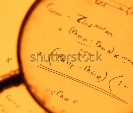 математический школы учитель классе черный Сток-фото © janaka
