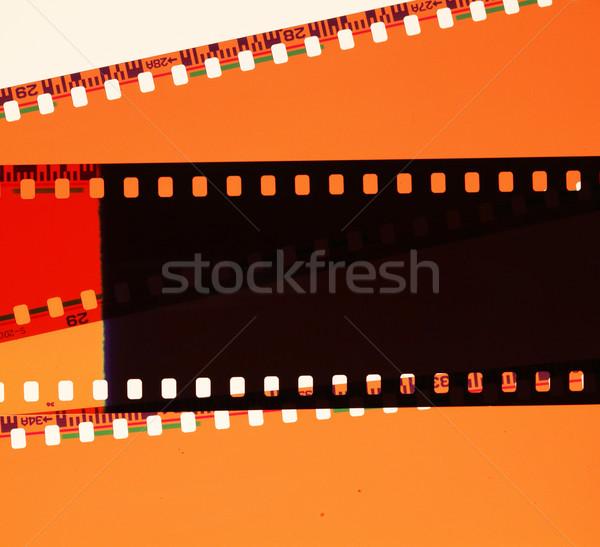 Negatywne starych film laboratorium Zdjęcia stock © janaka