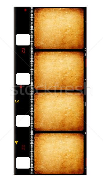 8mm film dijital sanat kâğıt doku Stok fotoğraf © janaka