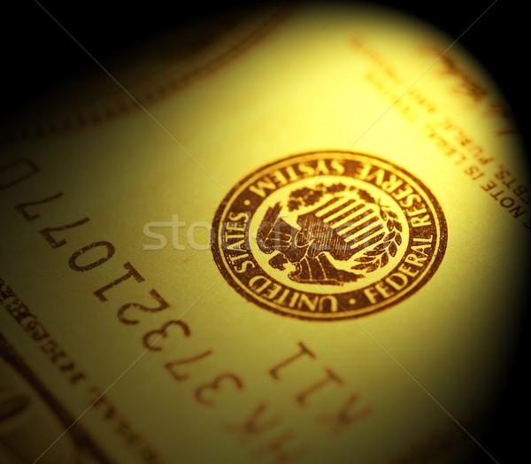 Dollar business geld financieren bank Stockfoto © janaka