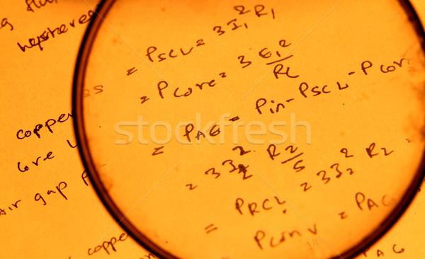 Matemático escolas professor sala de aula preto Foto stock © janaka