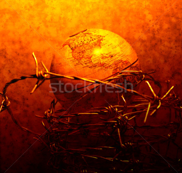 Vintage globe Stock photo © janaka