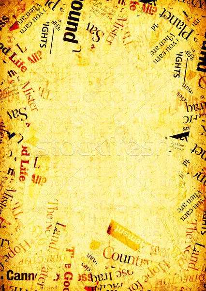 Régi papír közelkép koszos papírok papír textúra Stock fotó © janaka